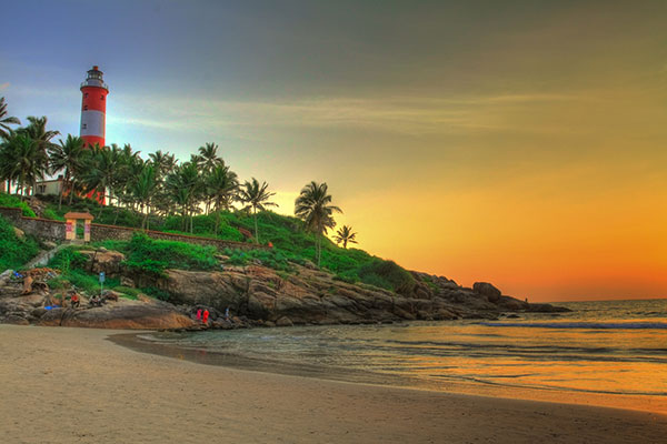 South India Nature Tour | Kovalam Beach | The Travel Planners